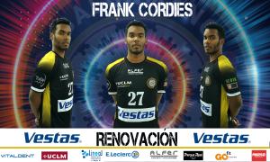 Frank Cordiés, potencia cubana en versión mejorada para el Vestas Balonmano Alarcos Ciudad Real