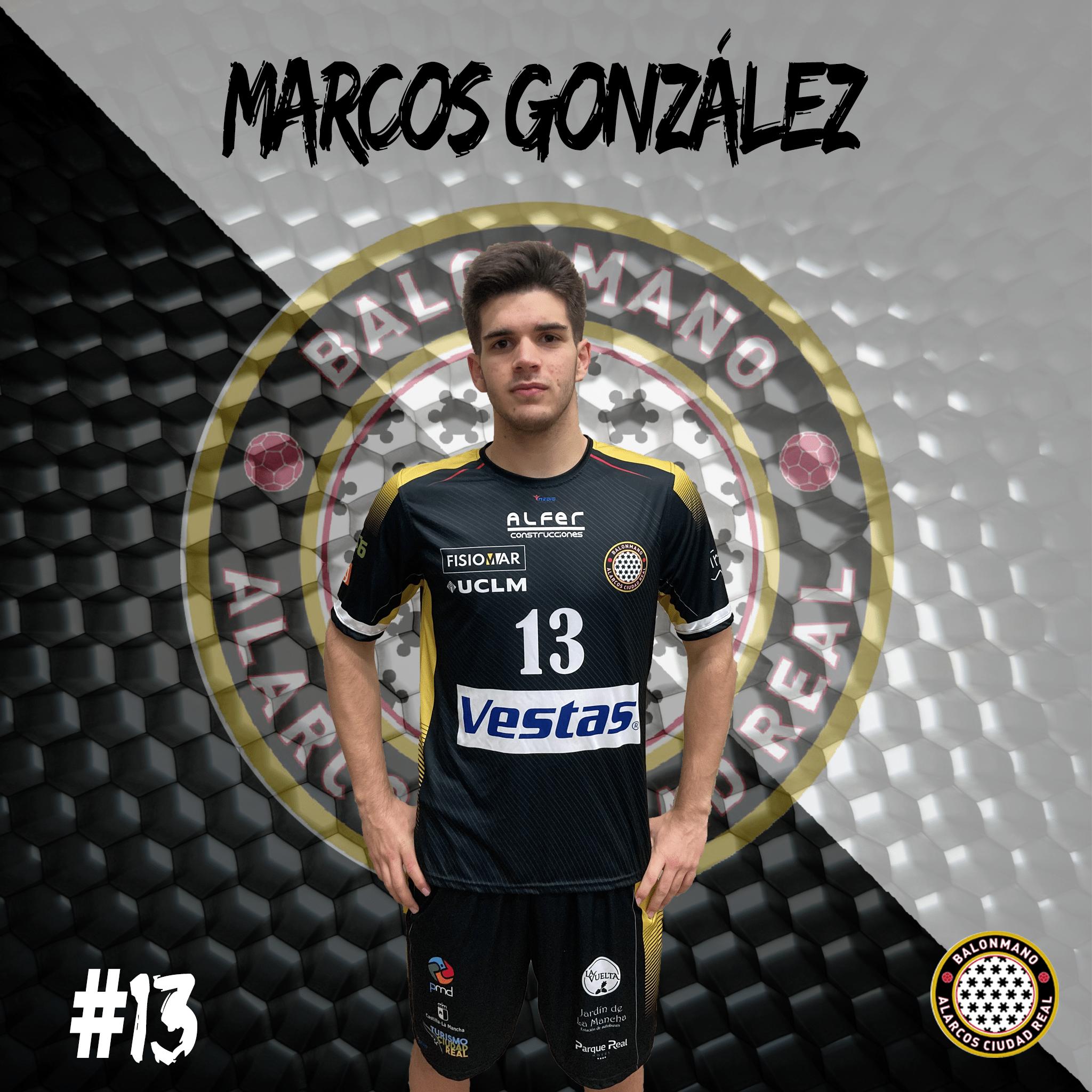 13. MARCOS GONZALEZ